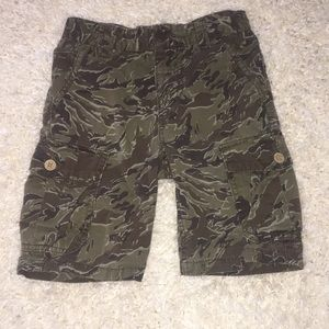 Boy's Lucky Brand Camo Shorts